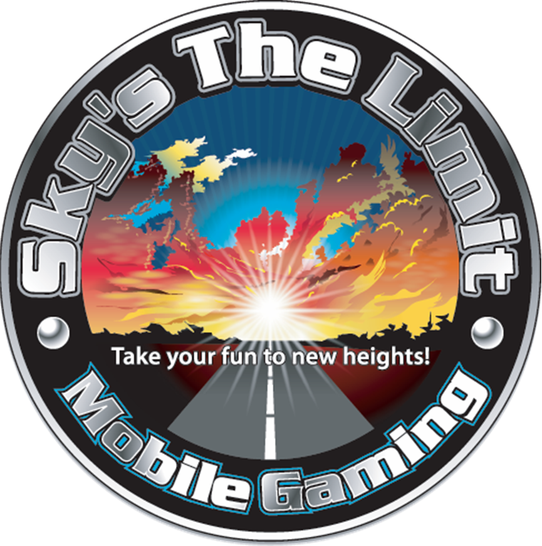 skys the limit logo topeka kansas video game party