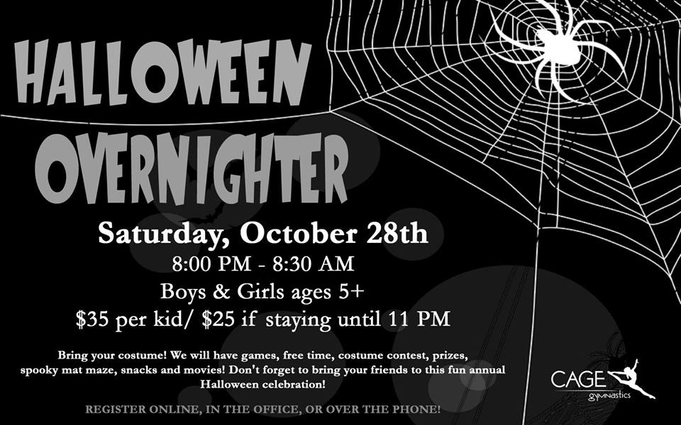 Halloween Overnighter